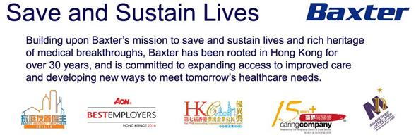 Baxter Healthcare Ltd's banner