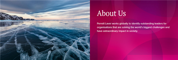 Perrett Laver Limited's banner