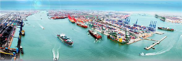 Tianjin Port Development Holdings Limited's banner