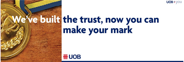 United Overseas Bank Limited's banner
