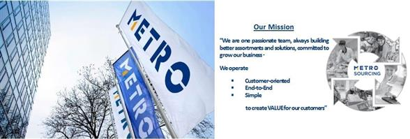 METRO Sourcing International Limited's banner