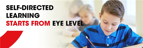 Eye Level World Education Center's banner