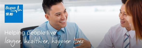 BUPA Asia Limited's banner
