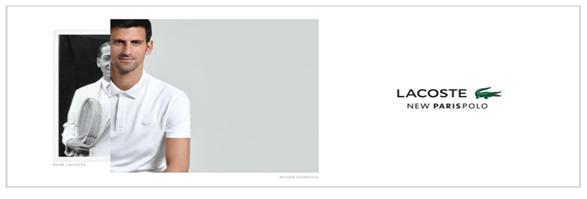 Lacoste Boutique's banner