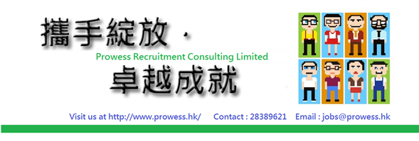 Prowess Recruitment Consultant Ltd's banner