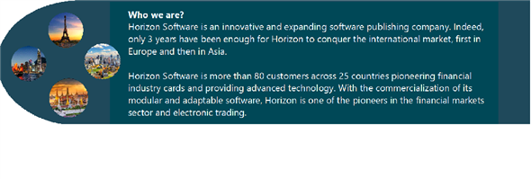 Horizon Software Asia Ltd's banner