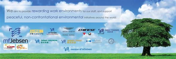 MF Jebsen International Limited's banner