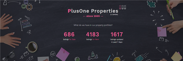 Plusone Properties Limited's banner