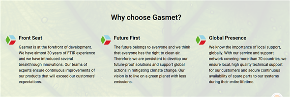 Gasmet Technologies (Asia) Limited's banner