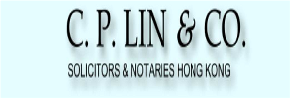 C. P. Lin & Co's banner