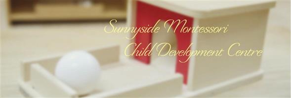 Sunnyside Montessori Child Development Centre's banner