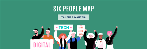 Six People Map's banner