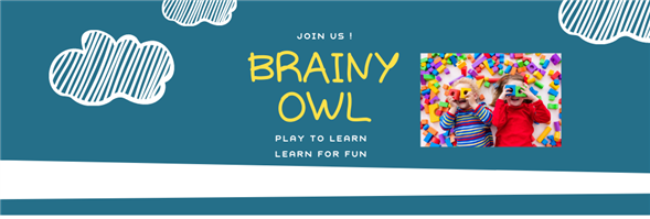 Brainy Owl English Learning Center's banner