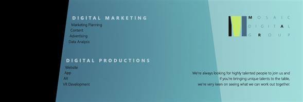 Mosaic Digital Production Limited's banner