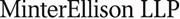 MinterEllison LLP's logo