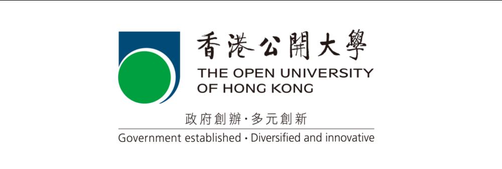 The Open University of Hong Kong's banner